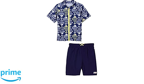 Ouxioaz Boys Swim Trunk Fish Bone Seamless Pattern Beach Board Shorts