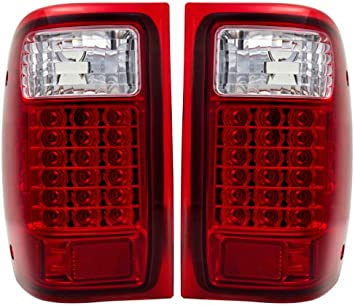 High Mount Third 3RD Brake Stop Tail Light Lamp Red for Mazda Premacy 1999-2011