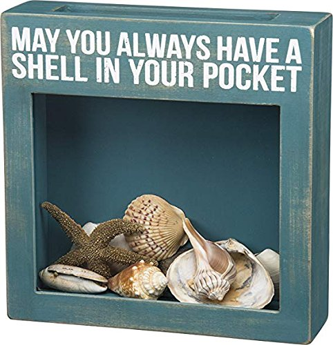 (Primitives by Kathy May You Always Have A Shell in Your Pocket Shell Shadow Box)