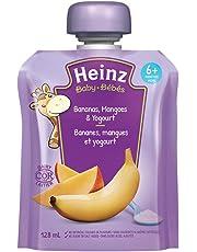 Heinz Baby Banana, Mango & Yogurt Pouch, 128mL (Pack of 6)