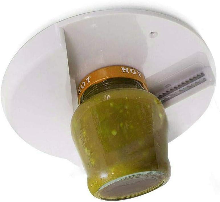 Jar Opener Under Cabinet Lid Openers for Seniors W//Arthritis Weak Hands NEW