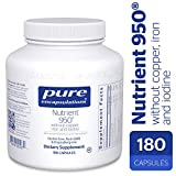 Cheap Pure Encapsulations – Nutrient 950 without Copper, Iron, Iodine – Hypoallergenic Multi-vitamin/Mineral Formula for Optimal Health* – 180 Capsules
