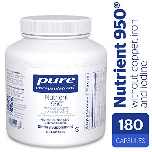 Pure Encapsulations - Nutrient 950 without Copper, Iron, Iod