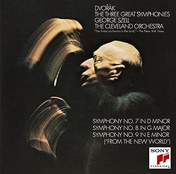 ドヴォルザーク:交響曲第7番~第9番、スメタナ:モルダウ他