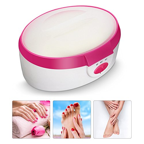 Paraffin, LuckyFine paraffinwachs für körper Hände Füße plug paraffin therapie bad wachs - wärmer - salon spa schönheit 220v-240v