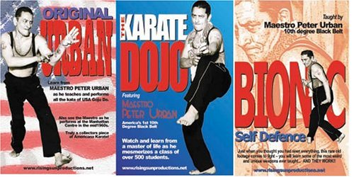 American Goju Master Urban - 3 DVD Set by RISING SUN PRODUCTIONS