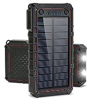 Solar Charger, Titita 13500 mAh Solar Po...
