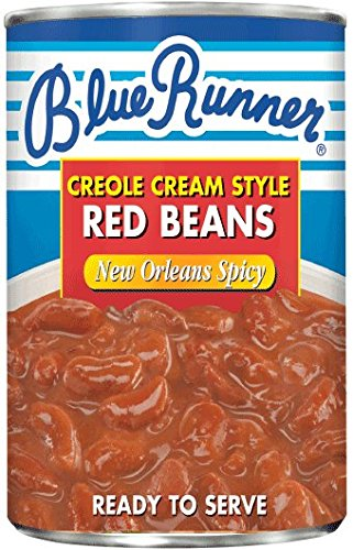 Blue Runner Foods Inc. Beans, N O, Spice Crm Style, 16-Ounce (Pack of 12)