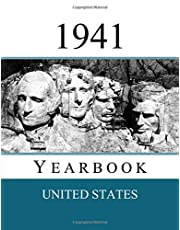 1941 US Yearbook: Original book full of facts and figures from 1941 - Unique birthday gift / present idea.