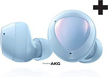 Amazon Com Samsung Galaxy Buds Plus True Wireless Earbuds Wireless Charging Case Included Cloud Blue Us Version