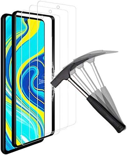 ANEWSIR Protector de Pantalla para Xiaomi Redmi Note 9S/9 Pro,Redmi Note 9S Cristal Templado Redmi Note 9S Screen Protector,Protector de Pantalla Cristal Vidrio Templado Premium-[3 Piezas]