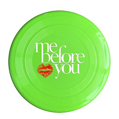 (YQUE56 Unisex Me Before You Love Your Lips 54 Outdoor Game Frisbee Sport KellyGreen)