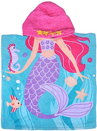 Bath Towel for 1 to 6 Years Old Girls, 24