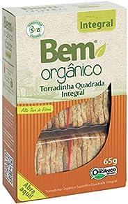 Torrada Bem Orgânico Integral Quadrada 65g