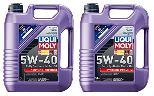 Liqui-Moly Synthoil High Tech 5W-40 Motor Oil (5 Liter) - 2 Pack