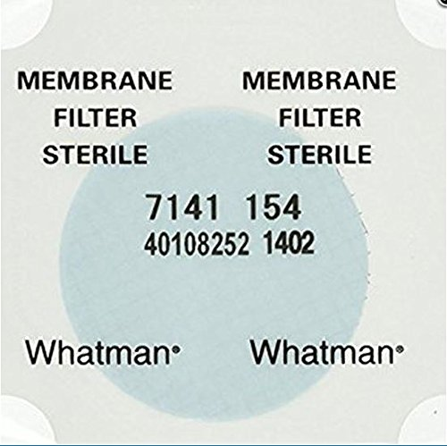 100 pack 47 mm Whatman sterile, gridded, cellulose ester membrane, 0.45 micron by Whatman