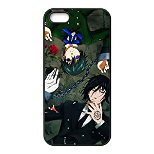 VOV Black Butler Cell Phone Case for Iphone 5s