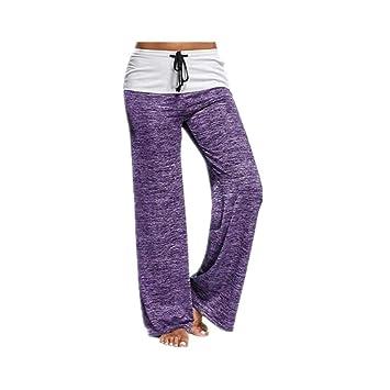 CS-YP Pantalones de Yoga para Mujeres, Pantalones de Color ...