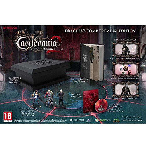 Castlevania Lord Of Shadows 2: Draculas Tomb Limited Premium Edition [PlayStation 3, PS3]