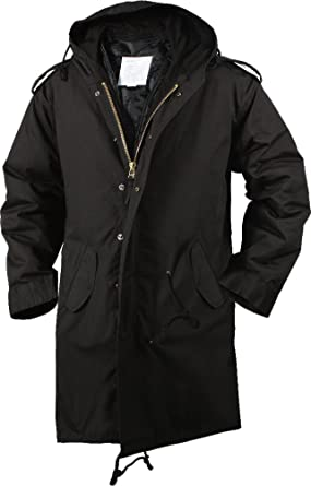 Amazon.com  BLACK M-51(M51) FISHTAIL PARKA SML  Military Coats And ... 622ad1a3841