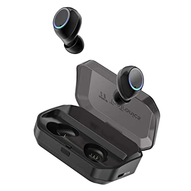 True Wireless Earbuds, Tao Tronics Bluetooth 5.0 Headphones Ipx7 Waterproof Built In Mic With 3350m Ah Charging Case For 1 Week Extended Playtime by Tao Tronics