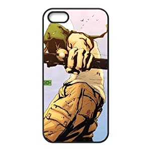 T-TGL(RQ) Iphone 5 5G 5S Phone Case Green Arrow with Hard Shell Protection