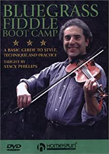 Bluegrass Fiddle Boot Camp DVD's