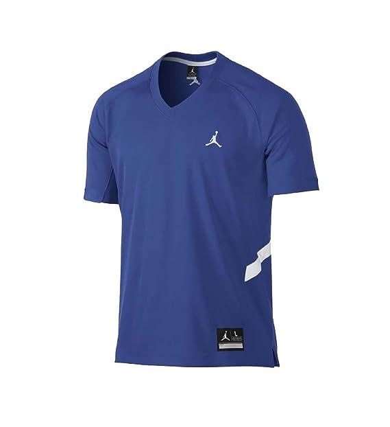 Jordan Mens Dri-Fit Prime Fly Shooting Jumpman Basketball Jersey-Royal Blue