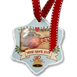Add Your Own Custom Name, Virgin Mary, Maria, Catholic religion Christmas Ornament NEONBLOND