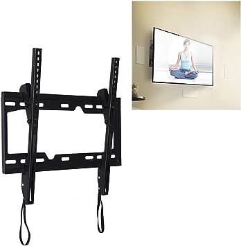 ZXQ Kit de reparación de teléfono para 26 – 55 Pulgadas Universal Ajustable ángulo Vertical LCD TV Soporte de Pared con cordón: Amazon.es: Electrónica