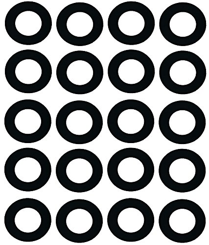 (Sterling Seal CRG7106.1250.031.150X20 7106 Rubber 60 Durometer Ring Gasket, 1-1/4