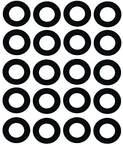 Sterling Seal CRG7106.1250.031.150X20 7106 Rubber 60 Durometer Ring Gasket, 1-1/4