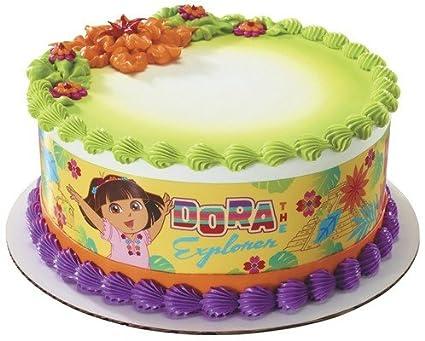 Amazon Dora The Explorer Edible Cake Border Decoration Toys