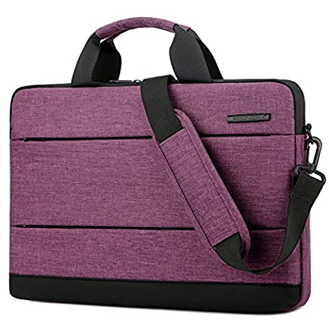 BRINCH 15.6 Inch Laptop Shoulder Bag,Classic Lightweight Slim Portable Laptop Messenger Sleeve Case for Work / Travel,Fits 15 - 15.6 Inches Laptop / Notebook / MacBook / Ultrabook - Hp Belt Case