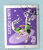 Used Romania Stamp %2D %281969%29 35b Ci