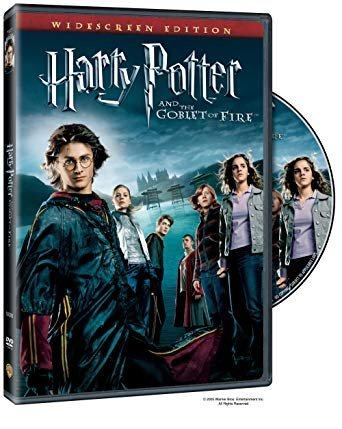Import Goblet - Harry Potter and the Goblet of Fire (1-Disc Widescreen DVD)