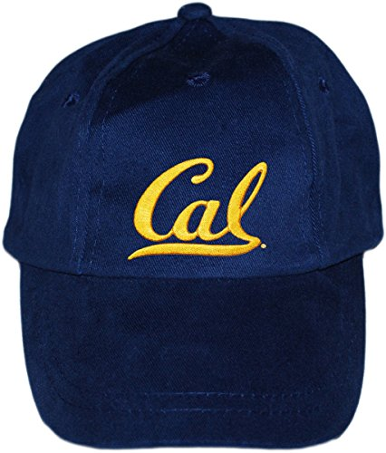 Creative Knitwear University of California at Berkeley Cal Baby and Toddler Baseball Cap Navy