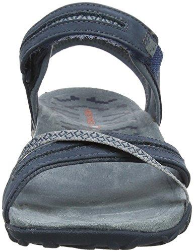Merrell Women's Terran Cross Ii Ankle Strap Sandals Grey (Slate Slate) hot sale cheap online XLpUet8El