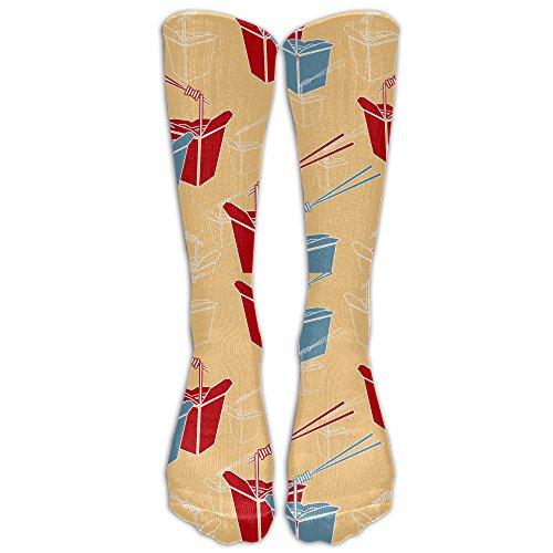 ZHONGJIAN Unisex Knee High Long Socks Don't Judge Udon Know Me Boot High Socks from ZHONGJIAN