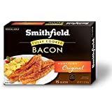 Smithfield, Hometown Original Fully Cooked Ready-to-Eat Hickory Smoked Bacon, 2.1 oz