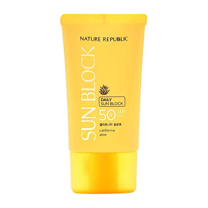 Nature Republic California Aloe Daily Sun Block SPF 50 57 ml/1.92 oz