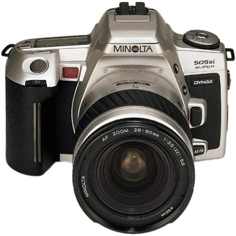 Minolta Dynax 505si Super cámara réflex de Plata con AF 3,5-5, 6 ...