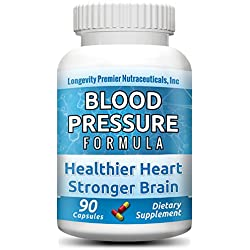 Longevity Blood Pressure Formula - Clinically formulated with 15+ natural herbs. Best blood pressure supplement