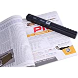 Portable Document & Image Scanner/USB Mobile Scanner 900DPI Color & Mono (For Business, Photo, Picture, Receipts, Books, JPG / PDF Format Selection, Micro SD Card required but not included)