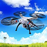 Safstar Syma X8G Remot Control Quadcopter Headless 2.4Ghz 4CH 6 Axis Explorers Drone with 8MP 1080P Action HD Camera RTF Helicopter