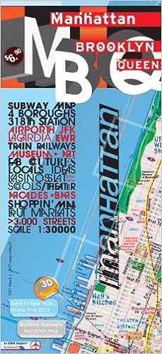 Subway Map From Laguardia To Manhattan.Terramaps Manhattan Brooklyn Queens Street Maps Subway Glossy