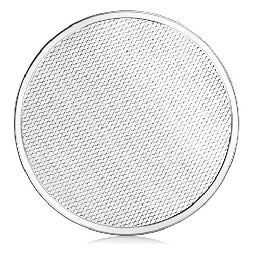 New Star Foodservice 50677 Seamless Aluminum Pizza Screen