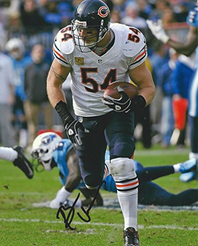 Brian Urlacher Chicago Bears, Signed, Autographed, 8x10 Photo, a COA with the Proof Photo of Brian Signing Will Be Included