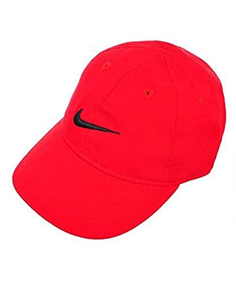 897bc002 Amazon.com: NIKE Little Boy's Swoosh Just Do It Cap, Red, 2/4T ...