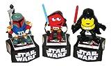M&M Star Wars Figures Coin Bank Set x 3 (1 each color)